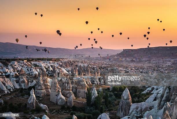 cappadocia morning - cappadocia stock pictures, royalty-free photos & images