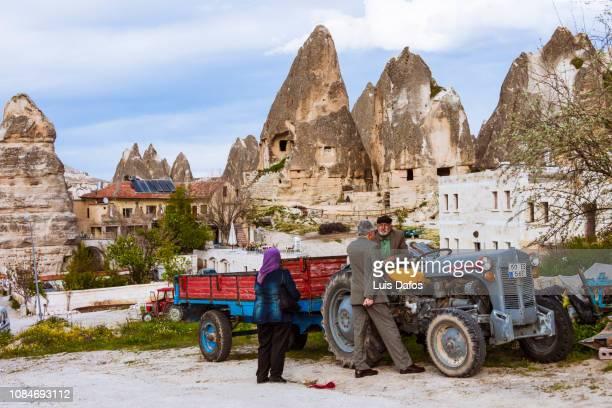 cappadocia, rural daily life - dafos stock photos and pictures