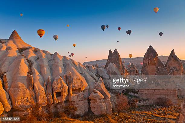 cappadocia, turkey - turkey middle east stock photos and pictures