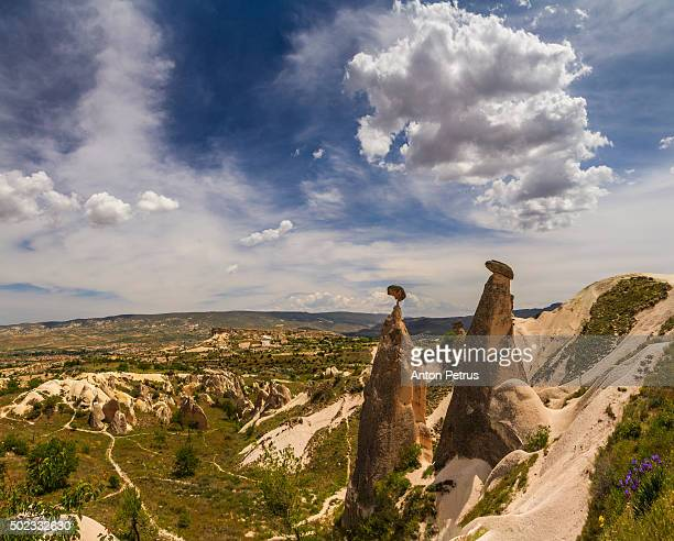 cappadocia, turkey, rock formations - anton petrus stock pictures, royalty-free photos & images