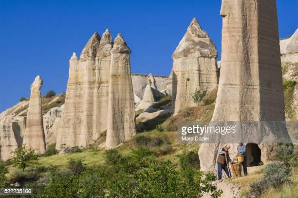 cappadocian farmer - anatolia stock pictures, royalty-free photos & images