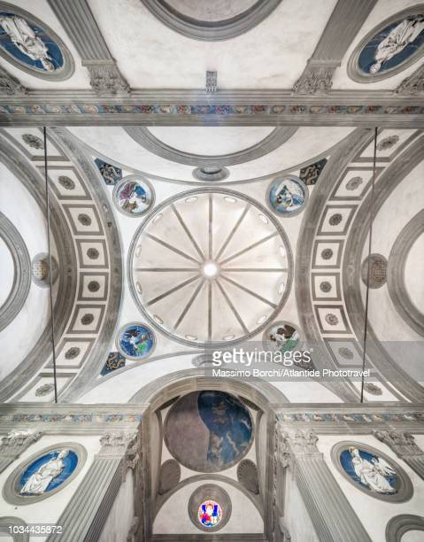 cappella pazzi - renaissance stock pictures, royalty-free photos & images