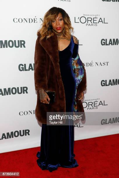 Cappie Pondexter attends the 2017 Glamour Women Of The Year Awards at Kings Theatre on November 13 2017 in New York City