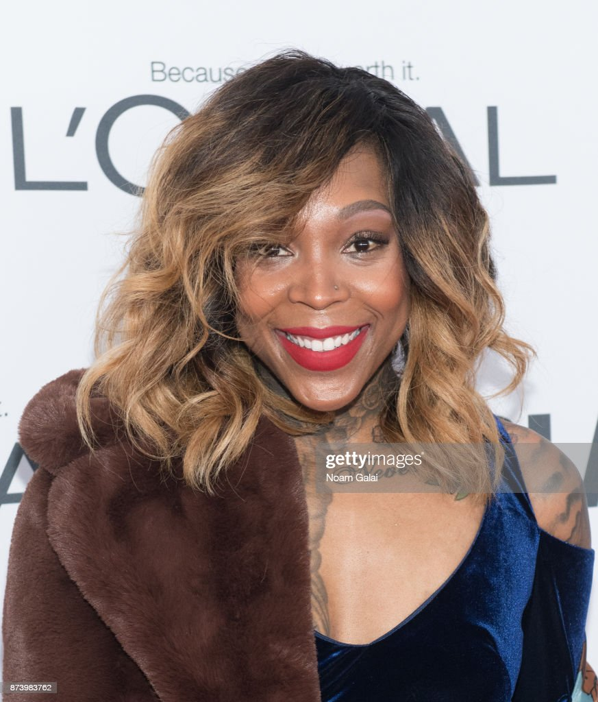 Cappie Pondexter attends the 2017 Glamour Women of The Year Awards at Kings Theatre on November 13, 2017 in New York City.