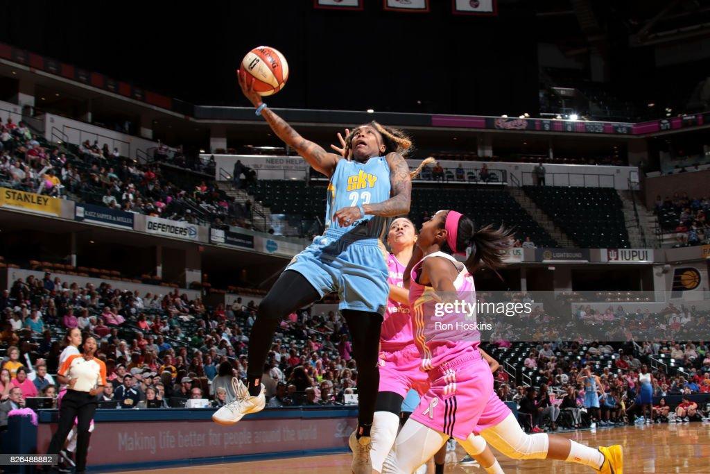 Chicago Sky v Indiana Fever : News Photo