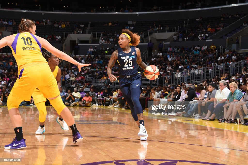 Indiana Fever v Los Angeles Sparks : News Photo