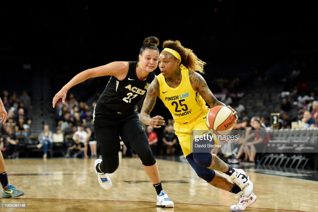 Indiana Fever v Las Vegas Aces : News Photo