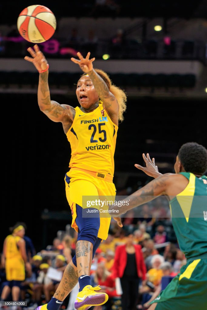 Seattle Storm vs Indiana Fever : News Photo