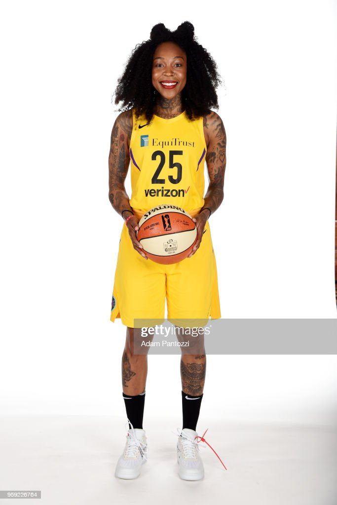 Los Angeles Sparks Media Day : Foto jornalística