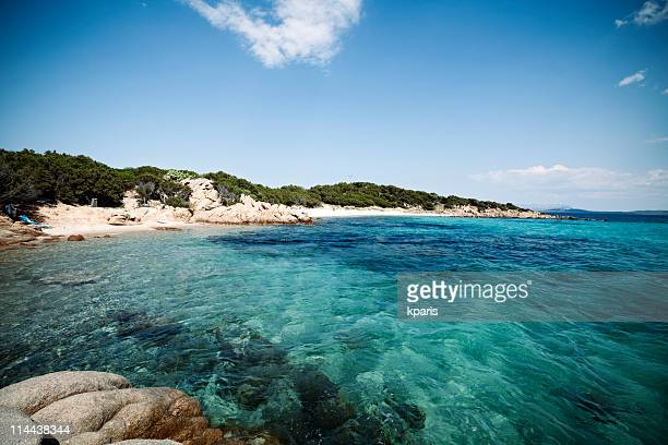 cappricioli beach - sardinia - costa smeralda stock pictures, royalty-free photos & images