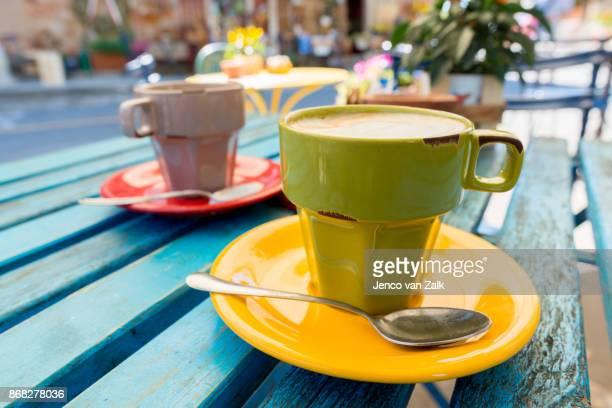 Cappuccini on the terras