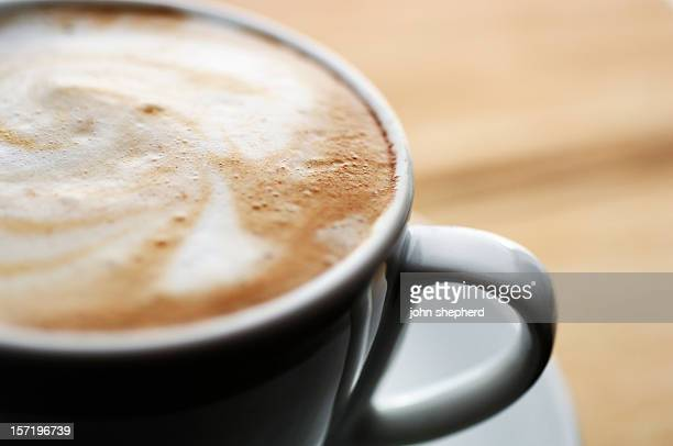 カプチーノのコーヒー