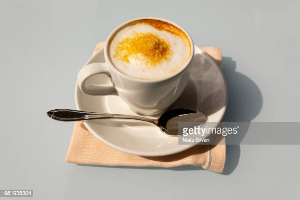 cappuccino coffee - overexposed stock pictures, royalty-free photos & images