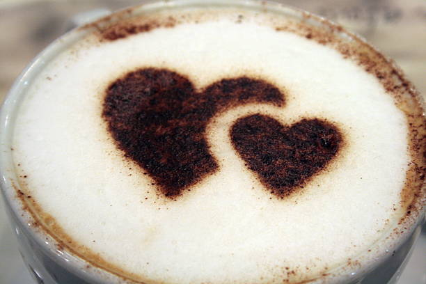 Cappuccino With Heart Wall Art