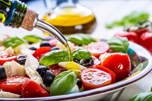Caprese. Caprese salad. Italian salad. Mediterranean salad. Italian cuisine. 479831676