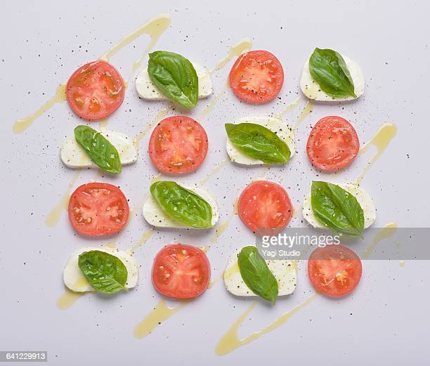 Caprese Salad knolling style