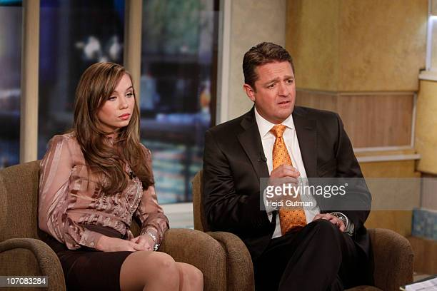 AMERICA Capri Anderson the woman who was found in actor Charlie Sheen's hotel room the morning of his arrest last month appears with her attorney...