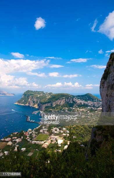 Capri island Campania Italy Europe