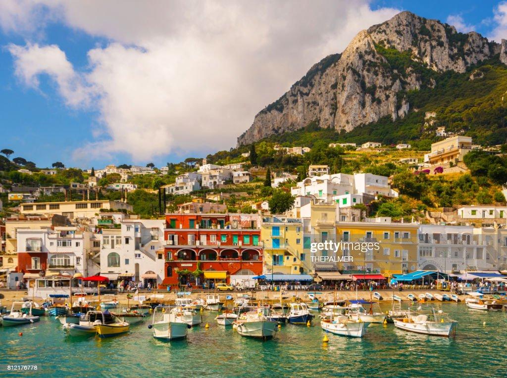 Capri island Italy : Stock Photo
