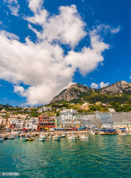 capri marina island italy - capri stock pictures, royalty-free photos & images