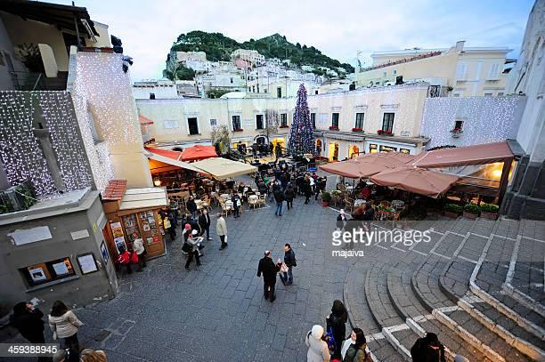 Capri piazza