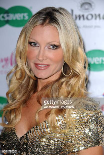 Caprice arrives for the Specsavers Spectacle Wearer of the Year awards 2009 at the Victoria and Albert Museum in London