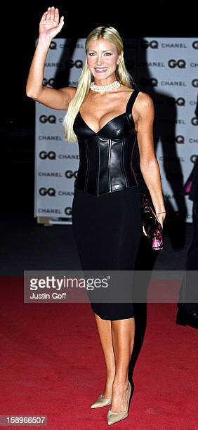 Caprice Attends The 2001 Gq Magazine 'Men Of The Year' Awards At London'S Victoria And Albert Museum