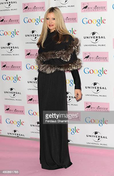 Caprice attends the Amy Winehouse Foundation Ball at Dorchester Hotel on November 20 2013 in London England