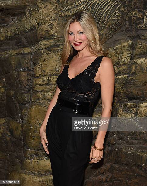 Caprice attends the launch of BBC Earth magazine at SEA LIFE London Aquarium on November 2 2016 in London England