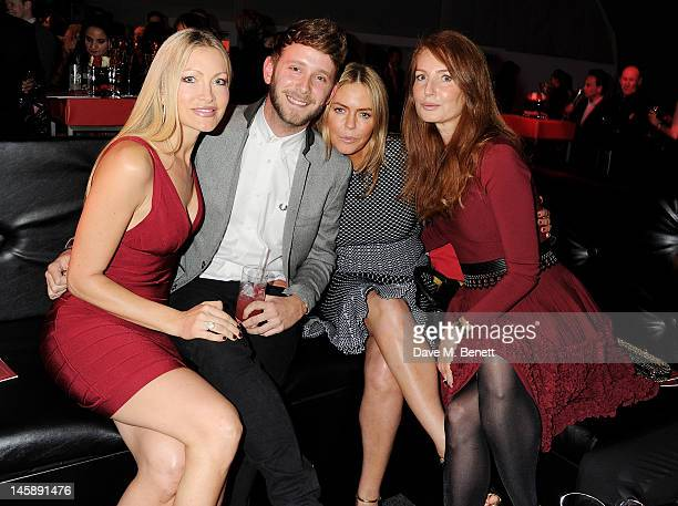 Caprice Barney Addison Patsy Kensit and Angela Radcliffe attend Gabrielle's Gala the inaugural fundraiser hosted by Denise Rich in aid of Gabrielle's...