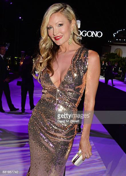 Caprice Bourret attends the de Grisogono party during the 69th Cannes Film Festival at Hotel du CapEdenRoc on May 17 2016 in Cap d'Antibes France