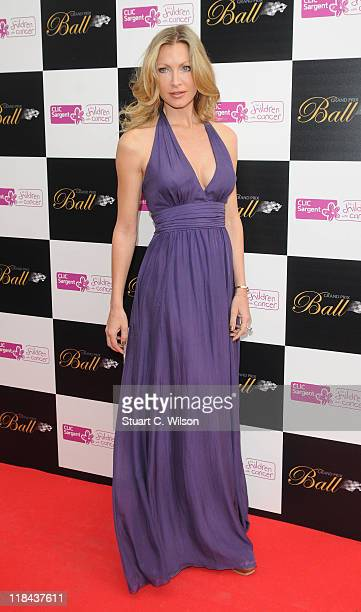 Caprice Bourret attends The Grand Prix Ball at The Hurlingham Club on July 7 2011 in London England