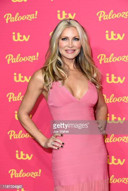 Caprice Bourret attends the ITV Palooza 2019 at The Royal Festival Hall on November 12 2019 in London England
