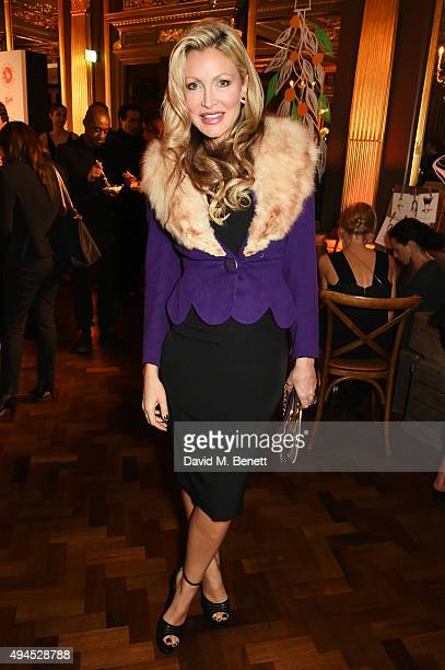 Caprice Bourret attends the launch of the Cointreau Creative Crew, a worldwide programme to champion creative women, hosted by Cointreau's creative...
