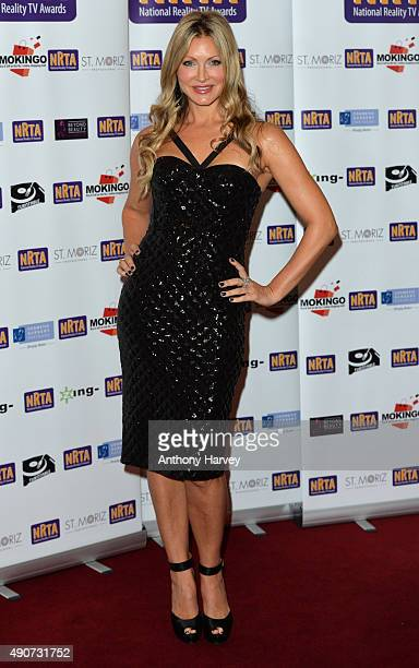 Caprice Bourret attends the National Reality TV Awards at Porchester Hall on September 30 2015 in London England