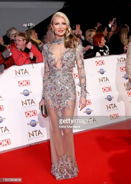 Caprice Bourret attends the National Television Awards 2020 at The O2 Arena on January 28 2020 in London England