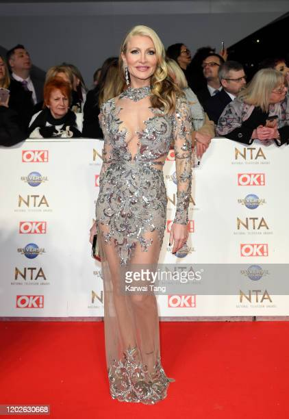 Caprice Bourret attends the National Television Awards 2020 at The O2 Arena on January 28, 2020 in London, England.