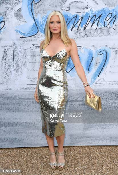 Caprice Bourret attends The Summer Party 2019 Presented By Serpentine Galleries And Chanel at The Serpentine Gallery on June 25 2019 in London England