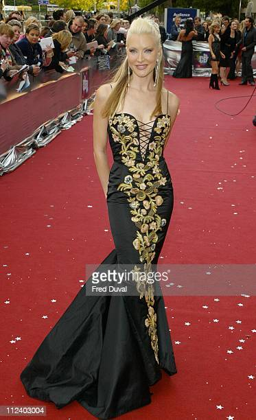 Caprice Bourret during 2004 Celebrity Awards at London Television Centre in London England Great Britain
