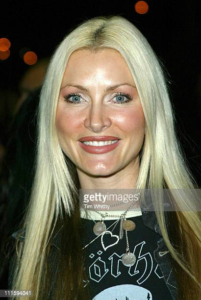 Caprice Bourret during Gizmondo MultiMedia Handheld Launch Party Arrivals at Park Lane Hotel in London United Kingdom