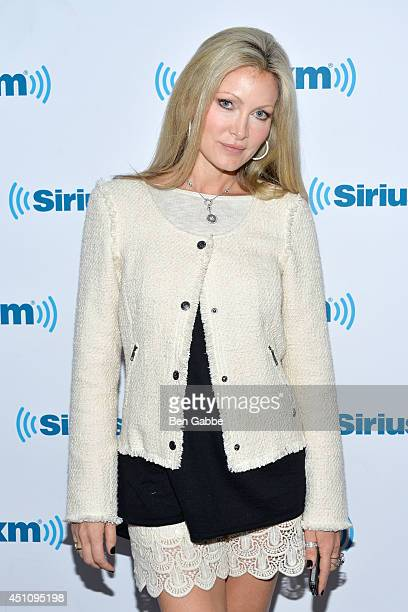 Caprice Bourret visits at SiriusXM Studios on June 23 2014 in New York City