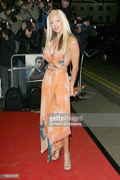 """Caprice during """"Derailed"""" London Premiere - Arrivals at Curzon Mayfair in London, Great Britain."""