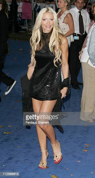 Caprice during 'Miami Vice' London Premiere Outside Arrivals at Odeon Leicester Square in London Great Britain