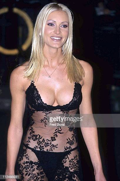 Caprice during National Television Awards October 1 1996 at London in London Great Britain