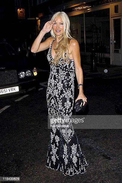 Caprice during Prince of Brunei Birthday Party June 24 2005 at Frankie's Bar Grill in London Great Britain