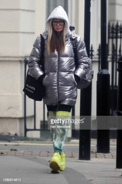 Caprice seen in Notting Hill on December 10, 2020 in London, England.