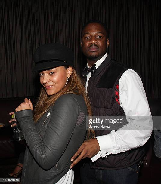 Capricorn and Mike B attend the 2008 Rocawear Christmas party at 1Oak on December 11 2008 in New York City