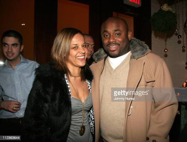 Capricorn and Steve Stoute during Naomi Campbell and Giuseppe Cipriani Holiday Party December 5 2005 at Cipriani in New York New York United States