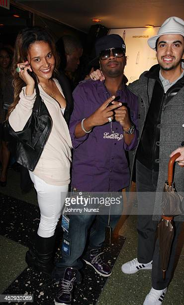 Capricorn Ron Browz and DJ Cassidy attend the after party for the premiere of Notorious at the Roseland Ballroom on January 7 2009 in New York City