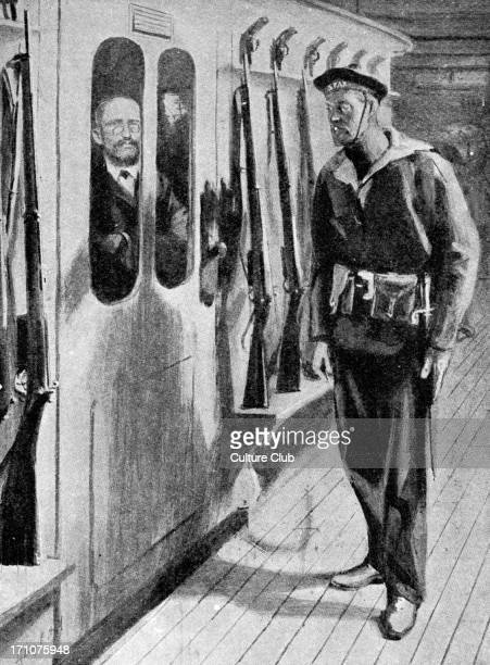 Captain Alfred Dreyfuson his way back from Devil's Island i drawing Falsely imprisoned 189599My Life on Devil's Island by Captain Alfred Dreyfus CAD...